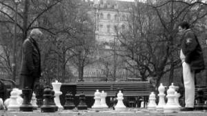 a chess game - squash tactics